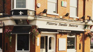 Danilos Pizzeria in Hale, Cheshire