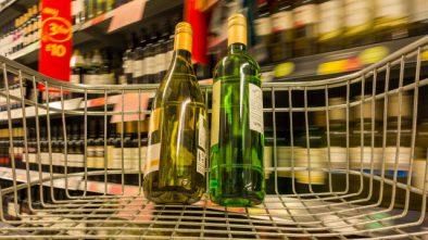 Wine Bottle in Supermarket Sweep
